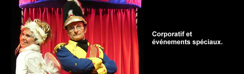 Ils ont impressionné et fait rire leur public avec leur mime robotique et leurs personnages comiques depuis plus de vingt ans.